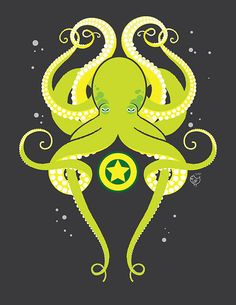 octopus... only without the star