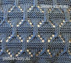 Vzor č. 147 – Kaleidoskop vzorů pro ruční pletení Knitting, Accessories, Fashion, Moda, Tricot, Fashion Styles, Breien, Stricken, Weaving