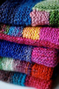 Next knitting project, a nice and cozy blanket :D