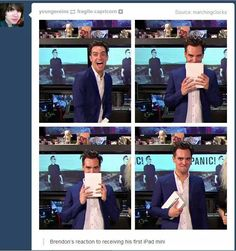 That awkward moment when you realize you're brendon urie