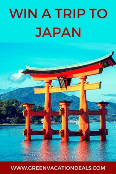 Japan Travel Sweepstakes - Win a free trip to Japan! Click to learn how to enter the JNTO – Japan: Discover the Land of the Gods Sweepstakes to win a free vacation to your choice of Japan travel destinations - Hiroshima, Oki Islands or Izumo. #Japan #Trip #OkiIslands #Izumo #Hiroshima #VisitJapan #Sweepstakes #FreeTrip #Japanese #JapaneseTrip #HiroshimaJapan #IzumoJapan #JapanTrip #TravelJapan #Oki #BucketList #TravelGoals #TravelWishlist