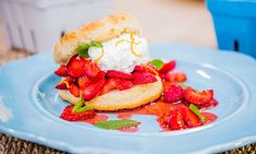 Home & Family - Recipes - Cristina Cooks Strawberry Shortcake | Hallmark Channel