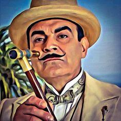 Hercule Poirot - digital painting #art #herculepoirot #hercule ...