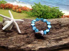 Hawaiian Cone Shell Bracelet by FlatteryDesigns on Etsy, $10.00
