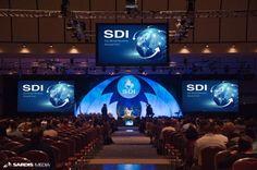 Inspiration for general session #Corporate #Events #AV #Production #DualScreen #AV #Ideas