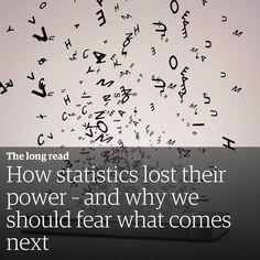Big Data cada vez mais dominando a cena. O que não significa que Ciência Estatística esteja ficando obsoleta. O método pode estar obsoleto o conhecimento científico não. #geekonomics #news #noticias  #statistics #estatistica