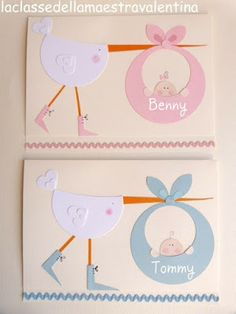 new born cards