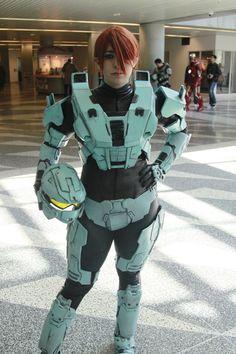 Halo cosplay girl spartan cortana master chief elites the