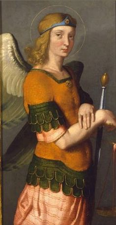 Saint Michael Archangel by Giovanni Battista Moroni