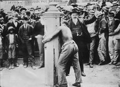 """""""Whipping post"""", Delaware, ca.1900  Even into the 20th century, Delaware employed whipping as a form of punishment for crimes. """"Poisoning someone could bring 60 lashes. Trafficking in stolen mules could mean 20 lashes, as compared to wife beating, which could get as few as five."""" The last recorded use was in 1952 when a wife beater got 20 lashes, although the law remained on the books until the 1970s."""