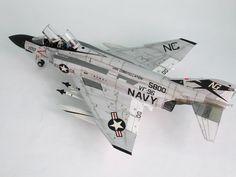 "F-4 J PHANTOM II ""SHOW TIME 100"" - Karopka.ru - bench models, military miniatures"