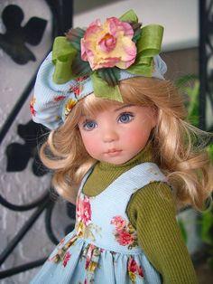Corduroy Jumper fits Effner 13 Little Darling; Little Charmers Doll Designs