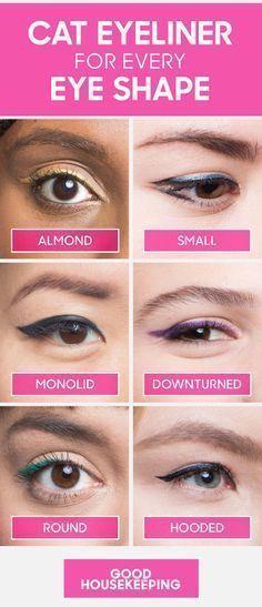 How to Do Winged Eyeliner for Every Eye Shape — Cat Eyeliner Tutorial #EyelinerStyles