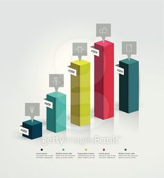 graph for infographic. Data Visualization, 3d Design, Bar Chart, Infographic, Infographics, Information Design, Visual Schedules