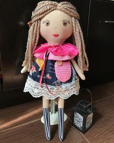"39 aprecieri, 2 comentarii - Mushurush dolls & crafts (@mushurush_dolls_and_craft) pe Instagram: ""Love all my dolls! 😍 #fabricdoll #fabrictoy #softtoy #nurserydecor #babygift #mommylovesyou…"""