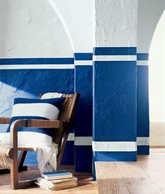 Plaster White - Featured In Whitewash, Modern Naturals . . .     Find more: White | Blue | Living Room  . . .         Plaster White -   RL1013 . . .        Cadet Blue -   RL1972