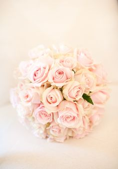 Blush rose bouquet  http://goodbyemiss.com/wedding/a-tankardstown-wedding-from-richie-stokes-photography