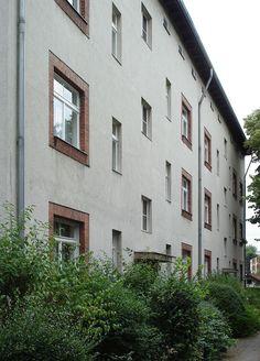 20080715 14995 DSC01847 Siedlung Schillerpark Corker Straße 33 und 35 - Osiedle Schillerpark – Wikipedia, wolna encyklopedia