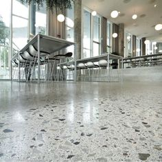 Are you struggling to select the best flooring material for an upcoming project? Read our concise comparison of polished concrete. Polished Concrete Flooring, White Concrete, Best Kitchen Faucets, Kitchen Tiles, Kitchen Design, Concrete Contractor, Soapstone Countertops, Floor Sitting, Wendy House