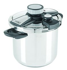 Viking Culinary Stainless Steel Pressure Cooker with Easy Lock Lid 8 Quart >>> Review more details @