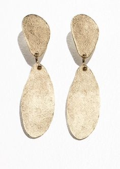 Textured Two Piece Earrings