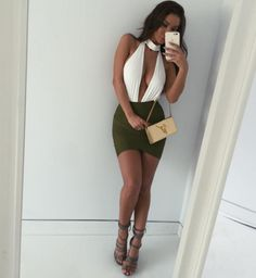 I love her style and sexy legs Sexy Outfits, Sexy Dresses, Dress Outfits, Fall Outfits, Summer Outfits, Cute Outfits, Fashion Outfits, Womens Fashion, Night Club Outfits