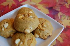 Pumpkin White Chocolate Chip Cookies (Bookmarked Recipes) | Beantown Baker