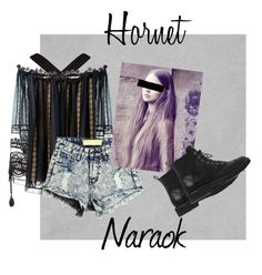 """Hornet Naraok"" by the-baguette on Polyvore featuring BCBGMAXAZRIA, Chloé and Giuseppe Zanotti"