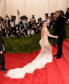 Kim Kardashian. See all the looks from the 2015 Met gala.