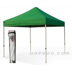 Advertising Logo Printed Camping Green Nylon Pop Up Tent - OT1412242139