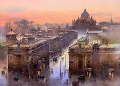 Evening At Vatican City, Prafull Sawant