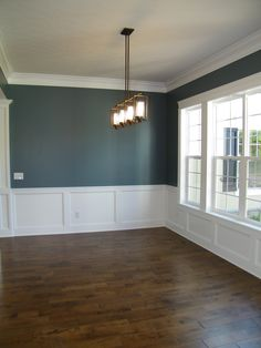 Wainscoting In The Dining Room  Classicbut Pub Rail Height With Fascinating Walk Through Dining Room Design Ideas