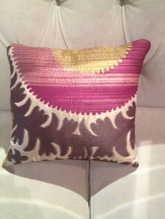 Donghia Suzani pillows