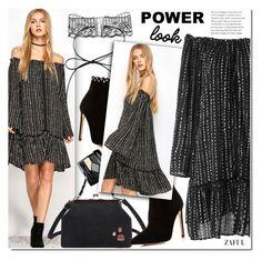 """Tunic dress"" by duma-duma ❤ liked on Polyvore featuring Raye and Christian Dior"
