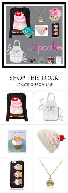 """""""Cupcakes for Christmas"""" by megmarg ❤ liked on Polyvore featuring interior, interiors, interior design, home, home decor, interior decorating, Boutique Moschino, Betty Crocker, Kate Spade and Amanda Rose Collection"""