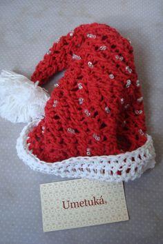 Crochet hat for Chirstmas...for pets.. Gorro de Navidad para mascotas...