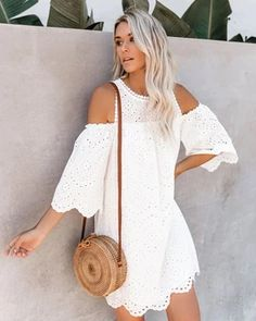 Summer Style Mini Dresses – Maizys Boutique Informal Wedding Dresses, Boho Mini Dress, Mini Dresses, Beach Tunic, Peignoir, Dress Robes, Swimsuit Cover, High Collar, Women Swimsuits