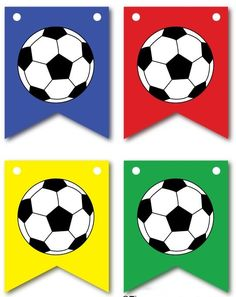 Kids soccer/football printables and activities - The Imagination Box Soccer Birthday Parties, Football Birthday, Soccer Party, Soccer Ball, Sports Party Favors, Football Team Kits, Football Themes, Free Football, Soccer Theme