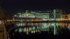 Wikipedia picture of the day on December 11 2017: Night view of Berlin Hauptbahnhof (English: Berlin Central Station) main railway station in Berlin Germany. The station came into full operation in May 2006 and is located on the site of the historic L https://t.co/VRels6Te4o https://t.co/LAmWxSkgfs
