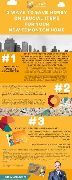 3 WAYS TO SAVE MONEY  ON CRUCIAL ITEMS  FOR YOUR  NEW EDMONTON HOME   #homesforsaleedmonton #edmontonrealestate #edmontonproperties  #edmontonhousesforsale #sergebourgoin #edmontonrealtor