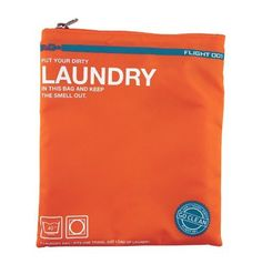 Don't Travel Dirty, Go Clean! Keep your dirty laundry away from clean clothes with our Go Clean Laundry bag in orange. Travel Luggage, Travel Bags, Travel Wear, Travel Items, Travel Gifts, Fab Life, Orange Bag, Travel Essentials, Travel Accessories
