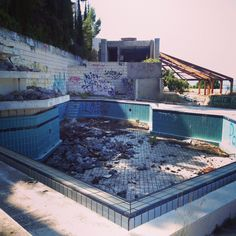 Now and Then Abandoned Resorts | Visiting movie locations: the abandoned hotel Belvedere in Dubrovnik ...