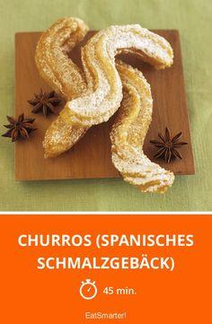Churros (spanisches Schmalzgebäck) - smarter - Zeit: 45 Min. | eatsmarter.de