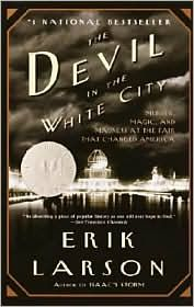 Follows a true story of the 1893 Chicago's World Fair where a serial killer lurked unbeknowst to unsuspecting woman. Fascinating and riveting!
