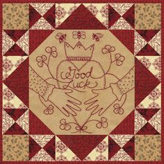 GOOD LUCK! A PATCHWORK YEAR www.kathyschmitz.com