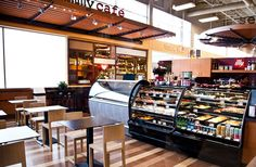 Featuring Illy coffees, baked-from-scratch pastries, and freshly made gelatos. European Cafe, Open Market, Meet Friends, Restaurant Design, Architecture Design, Relax, Pastries, Coffee, Store