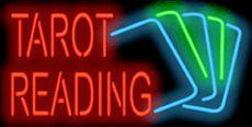 Tarot Reading Neon Sign
