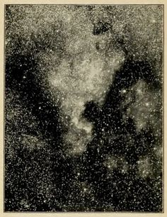 Vintage astronomy print.