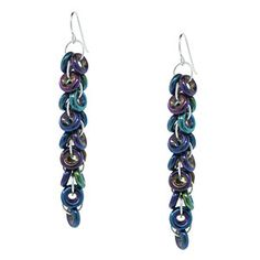 Oil Slick Earrings | Fusion Beads Inspiration Gallery