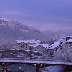 ville neige #sallanches